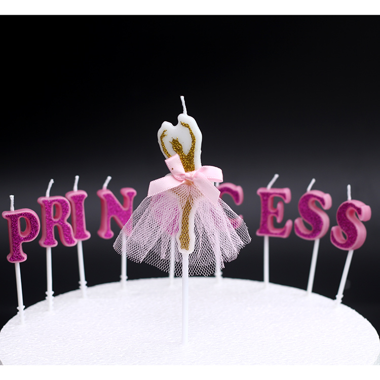 Creative Scented Birthday Weddings Candles Princess Love Flameless Candles Cake For Children Gifts Candles Birthday Decoration ...