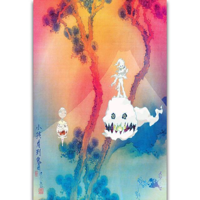 Apple Kids Kids See Ghosts Album Cover Wallpaper