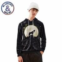 2019 New Fashion Hoodies Men 3D Loose Pullover Starry sky Print Sweatshirt Hoodies sudadera hombre Autumn Streetwear Out Coat
