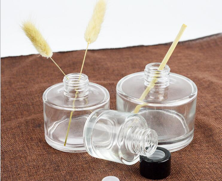 Bouteille en verre ronde d'aromathérapie 50ml bouteille cosmétique en verre d'huile essentielle de haute qualité 50 PCS/LOT-in Recourbe-cils from Beauté & Santé    1