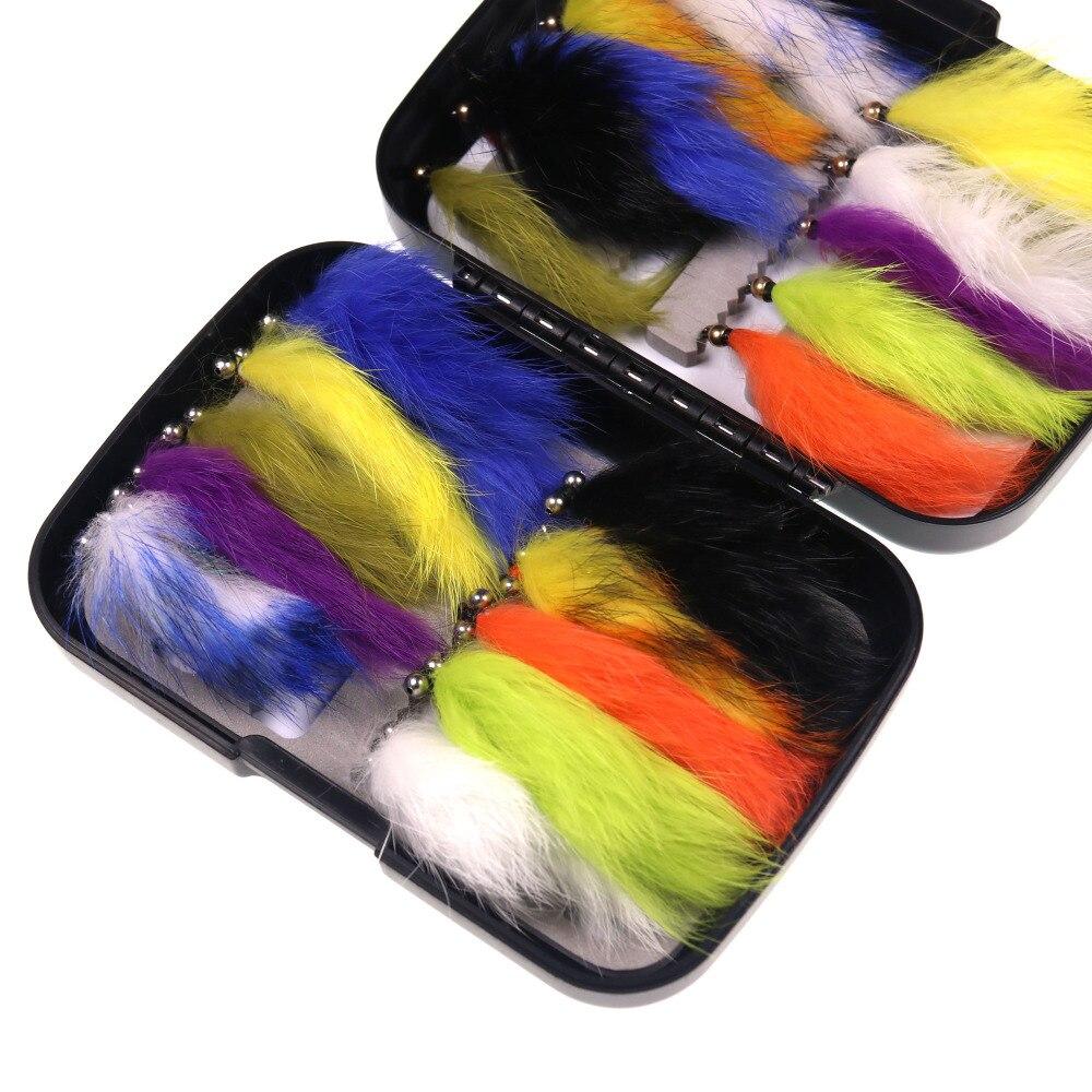 Isca de pesca de arco-íris com voa,