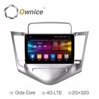9 дюймов Android 6,0 Восьмиядерный 2 Гб ОЗУ + 32 Гб ПЗУ автомобильный dvd плеер для Chevrolet Cruze 2009 2014 радио gps навигатор стерео BT TPMS DAB +