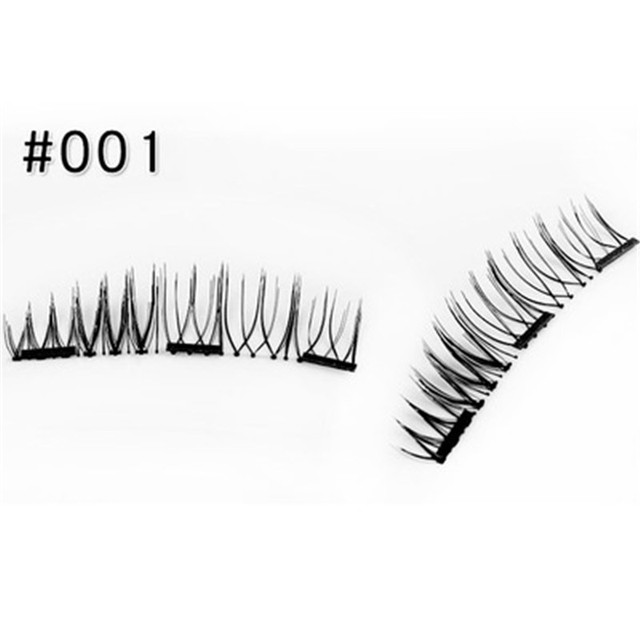 3 Magnet 3D Magnetic Eyelashes Magnet Lashes 1