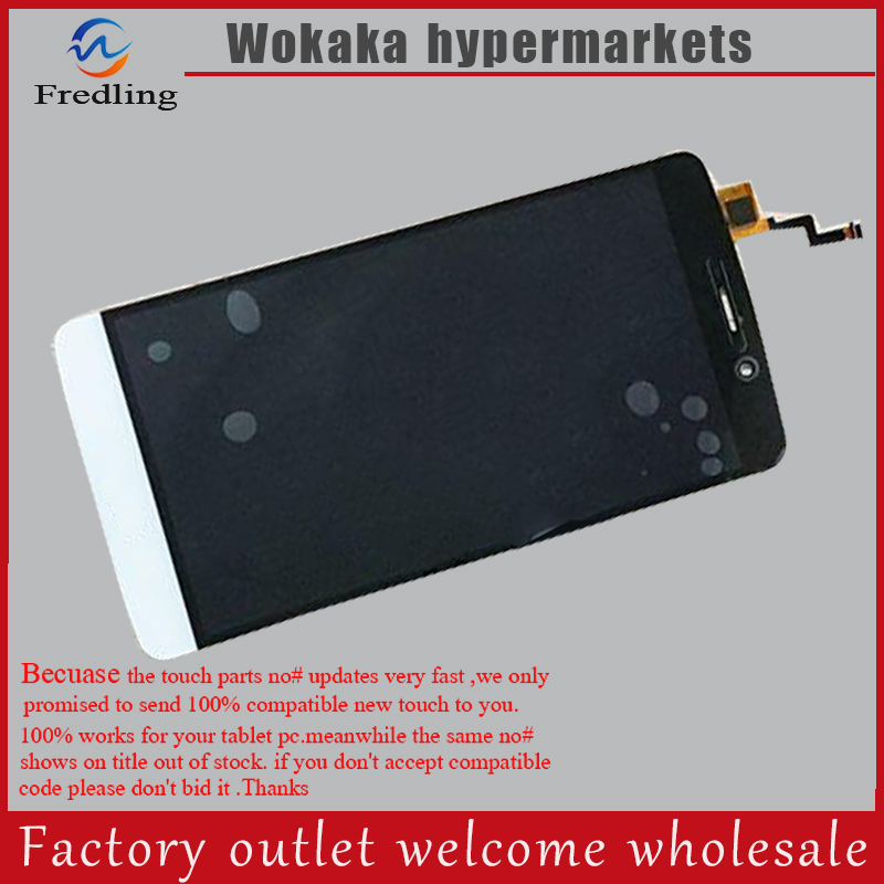 For TP-LINK Neffos C5 Max LCD Display With Touch Screen Digitizer Assembly Free Shipping With Tracking Number  in stock wisecoco 5 0 inch lcd for blackview bv5000 lcd display screen with touch panel digitizer with tracking number