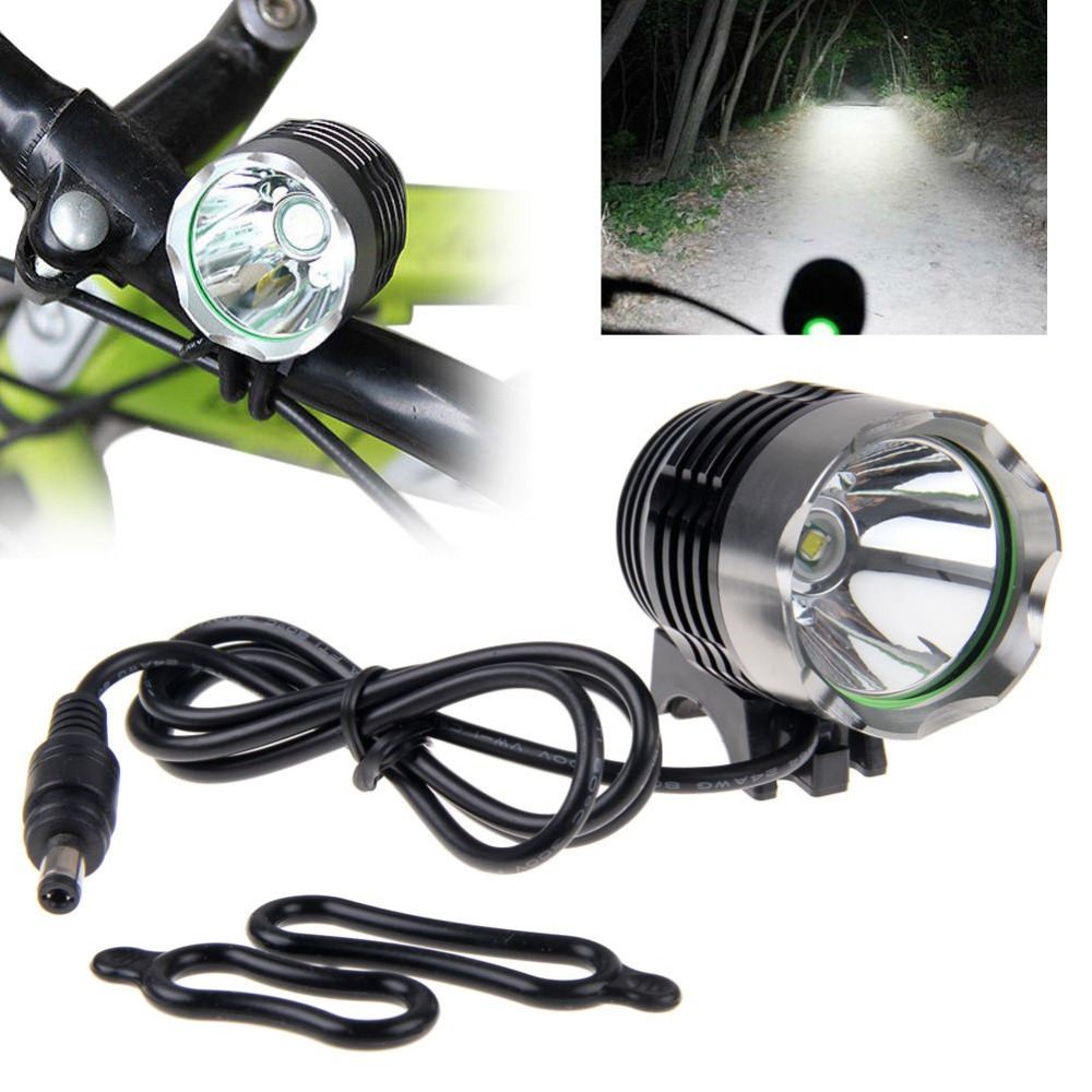 XM-L T6 LED Bicycle Light Headlamp Front Head Torch Bike Headlight with Battery Pack+Charger #2A30