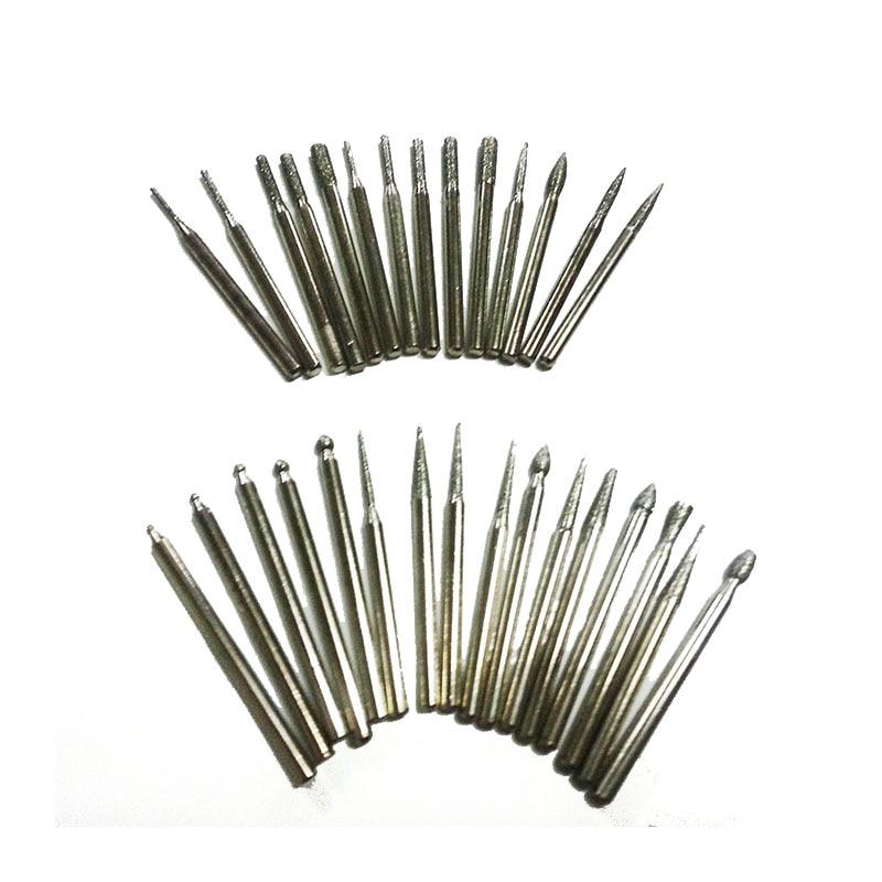 30 piezas de fresas de diamante dremel mini accesorios de taladro - Herramientas abrasivas - foto 2