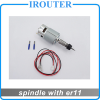 Freeshipping Spindle 775 With ER11 High Speed Large Torque DC Motor Electric Tool Electric Machinery 12