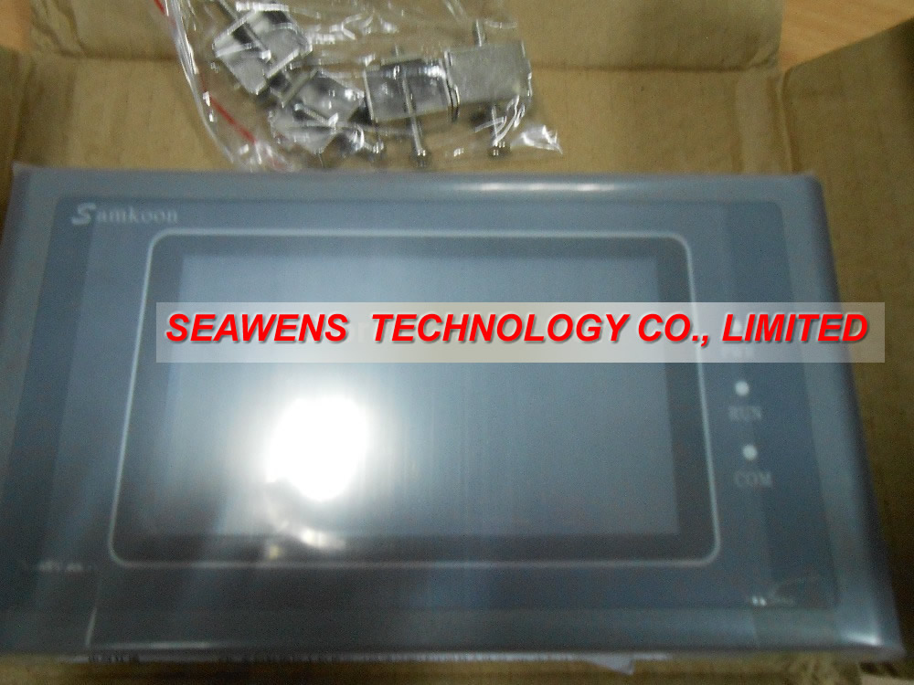 Samkoon SK-043AE/B : 4.3 inch HMI touch Screen Samkoon touch panel SK-043AE/B with programming cable and software, Fast shipping sa 5 7a 5 7 inch hmi touch screen samkoon sa 5 7a with programming cable and software fast shipping
