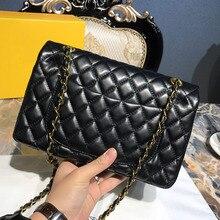 07a494fa20beb Koraba projektant luksusowe torebki prawdziwej skóry diament kraty torba  moda kobiety marka Logo torba(China