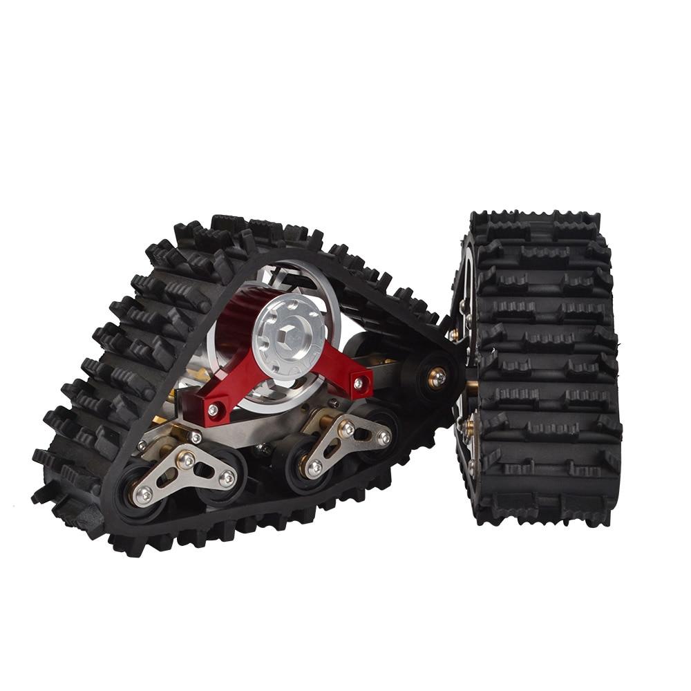 RC TRX4 Tracce Ruota Sandmobile di Conversione Pneumatico Da Neve per 1/10 RC Traxxas Trx4 Parti di Aggiornamento-in Componenti e accessori da Giocattoli e hobby su  Gruppo 2
