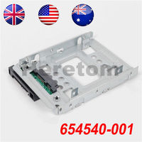 "US/UK/AU Shipping 2.5"" to 3.5"" SATA SSD HDD Adapter tray 654540 001 for G10 774026 001 651314 001 Gen8/gen9 N54L N40L N36 x7k8w