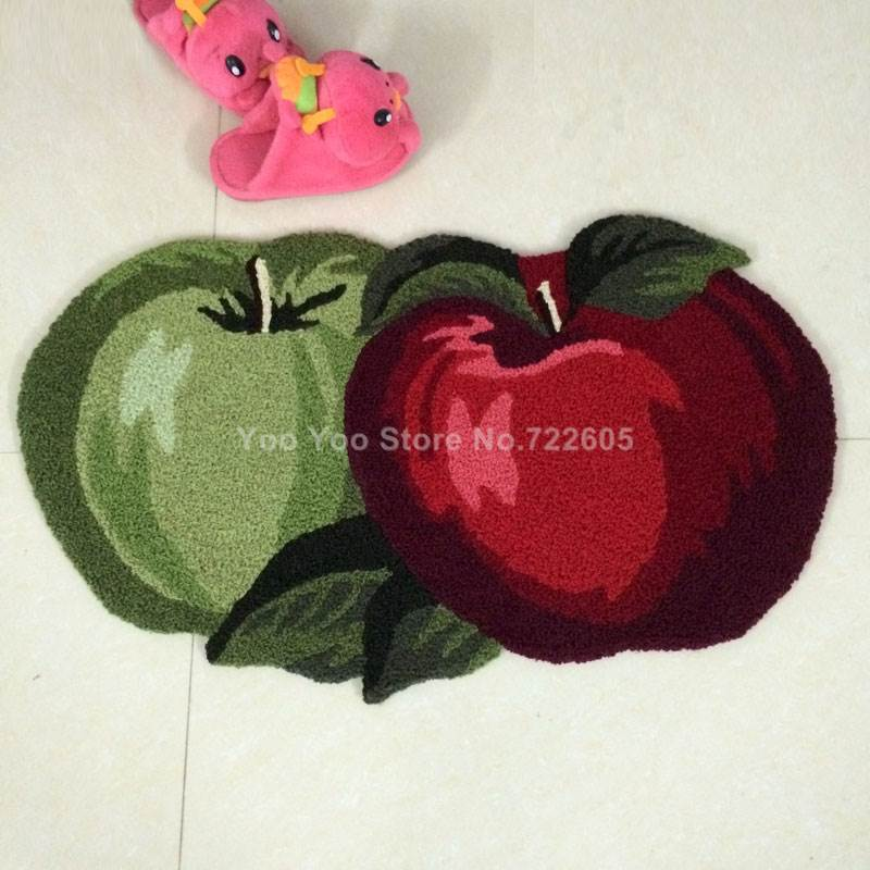 Fruit Rug Fruit Kitchen Rugs Strawberry/Apple High Quality Handmade Floor  Mats Area Rug For Living Room 80*50cm In Mat From Home U0026 Garden On  Aliexpress.com ...
