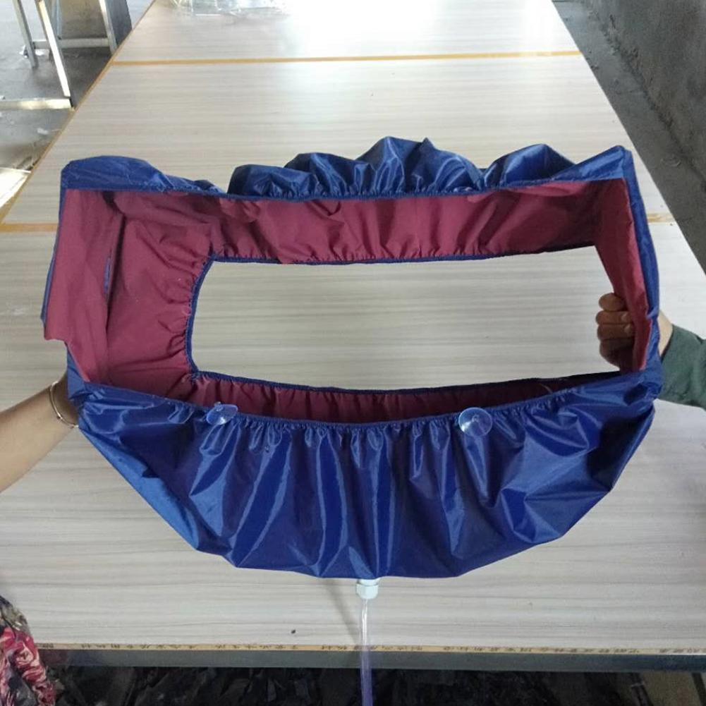 Air Conditioning Cleaning Cover Hanging Waterproof Household Cleaning Dustproof Cover Washing Wall Mounted Tightening beltAir Conditioning Cleaning Cover Hanging Waterproof Household Cleaning Dustproof Cover Washing Wall Mounted Tightening belt