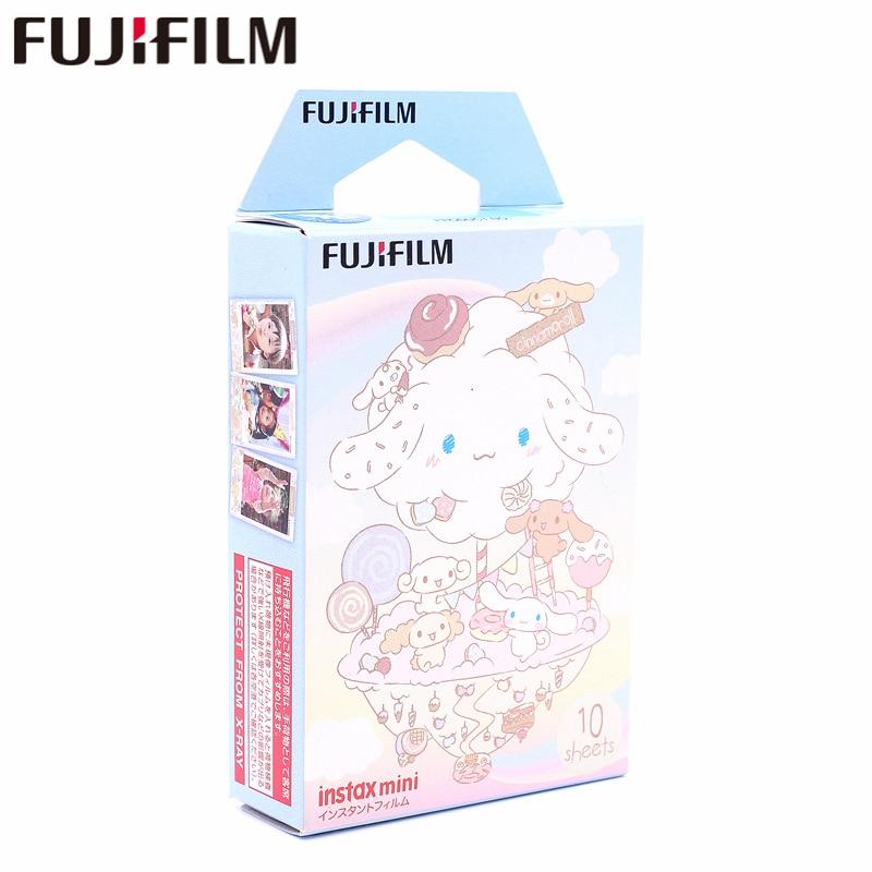 Galleria fotografica New Fujifilm 10 sheets Instax Mini CINNAMOROLL Instant Film photo paper for Instax Mini 8 7s 25 50s 90 9 SP-1 SP-2 Camera