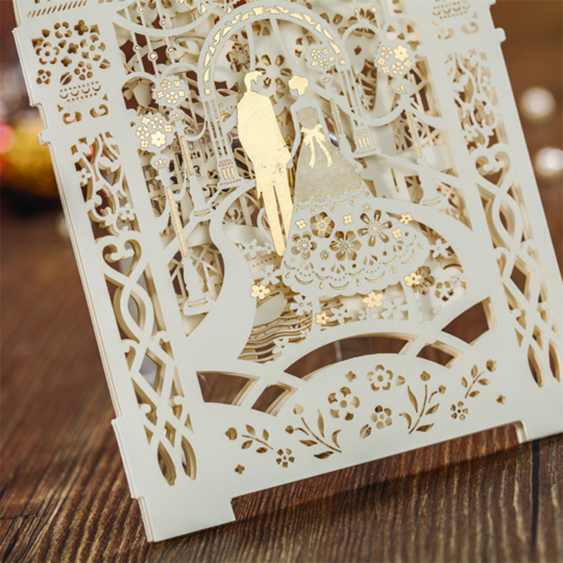 50 Set Fashion 3D Design Bird Butterfly Cartoon Laser Cut Wedding ...