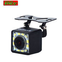BYNCG WG12 LEDs Waterproof 12 LEDs Night Vision Car CCD Rear View Camera Reverse Camera  For Auto Parking Monitor