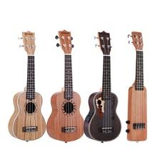 """ammoon Series Ululele 21"""" Ukulele Set 15 Fret 4 Strings Stringed Musical Instrument 19 Styles Ukulele"""