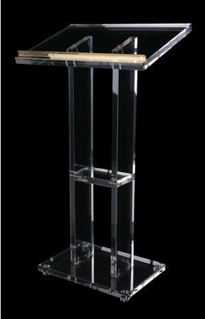 Clear-Podium-Lectern-Pulpit-Plexiglass-Lucite-Acrylic  Clear-Podium-Lectern-Pulpit-Plexig Lectern  Church Lectern Church Chrome