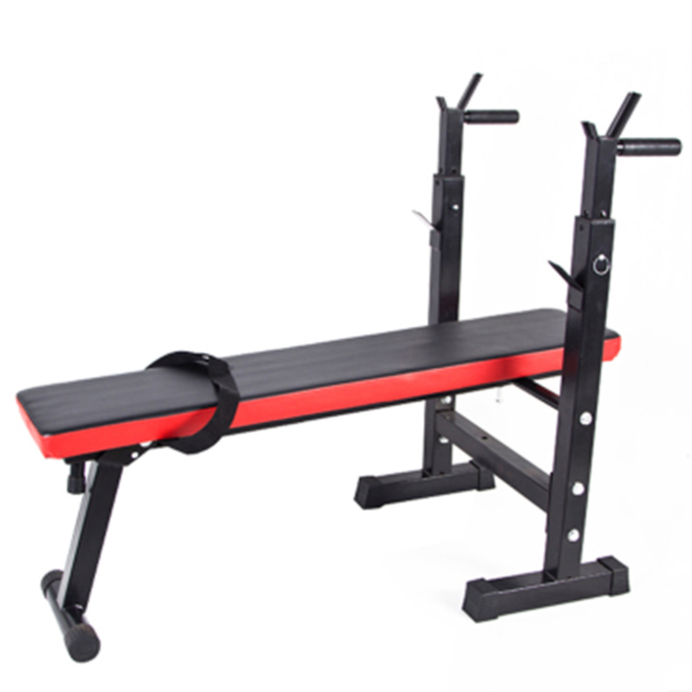 купить High Quality Heavy Duty Gym Shoulder Chest Press Sit Up Weights Bench Barbell Fitness Full Body Workout Exercise Equipment недорого