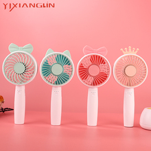 YIXIANGLIN brand EFA07-03 Mini Handheld Fan Cooler Handheld USB Charging Mini Desk Fan Rechargeable ABS Portable For sale the open championship 2019 day two