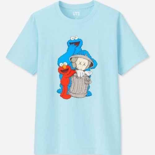 a2b3c713 Detail Feedback Questions about KAWS X Sesame Street (Cookie Monster & Elmo)  Graphic Men's T Shirt Cartoon t shirt men Unisex New Fashion tshirt free ...