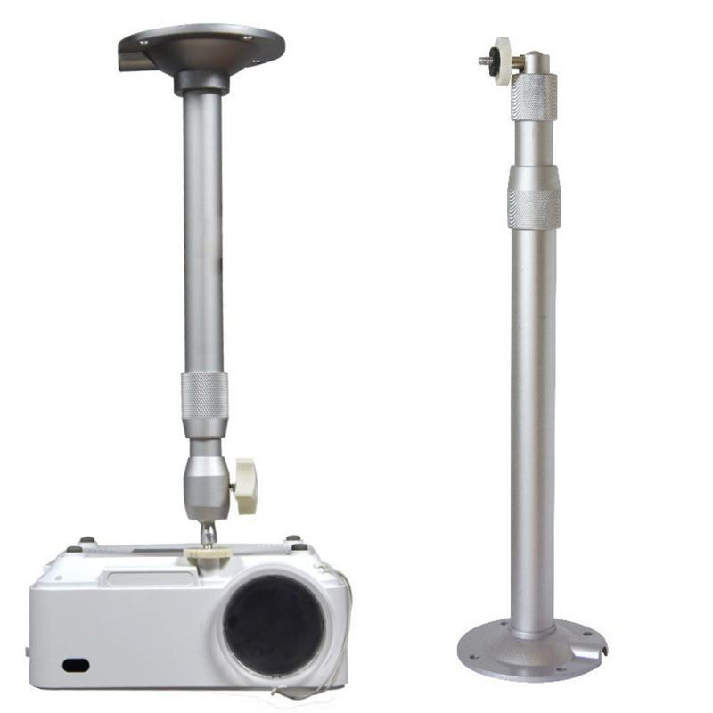 new high quality aluminum alloy 360 degrees 2845cm adjustable projector hanger ceiling wall mount - Projector Wall Mount