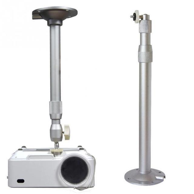 New Hot Adjustable portable Aluminum Alloy Mini projector hanger 35-40cm projector wall mount  360 Degree  projector accessories