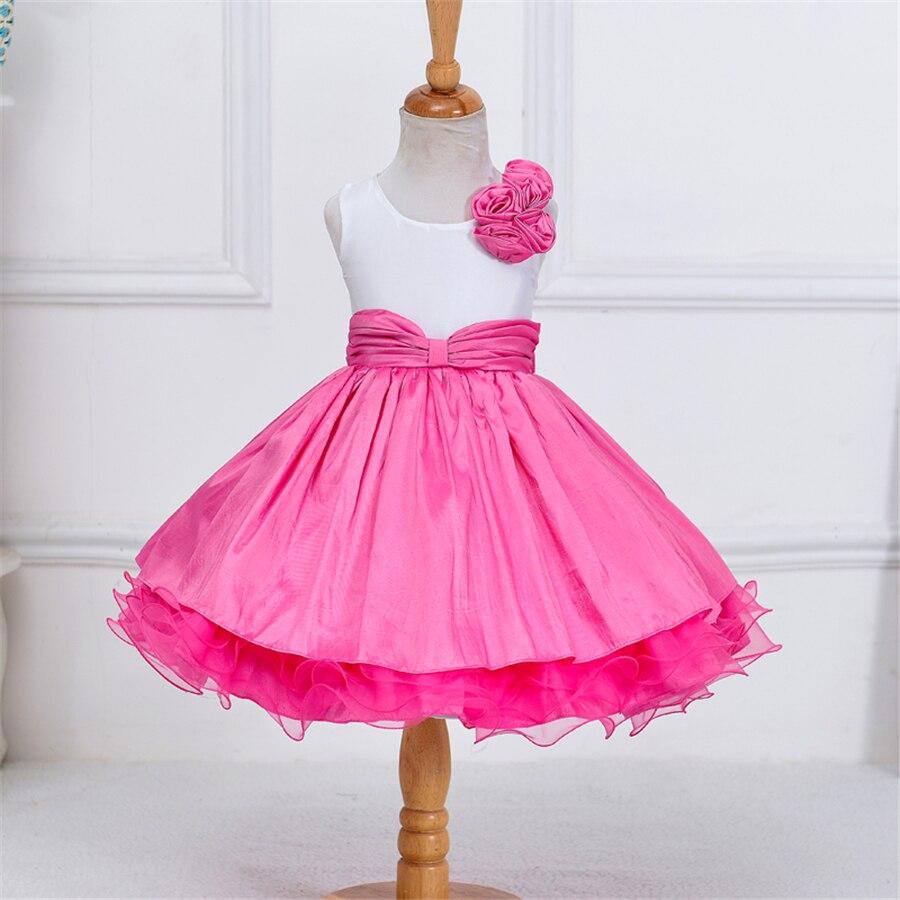 mädchen kleidung sommer kleider für mädchen ballkleider kinder mädchen  kleid rosa parteikittel für kinder abendkleider alter 11 nq130