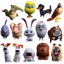 14pcs/set Cartoon Movie The Secret Life Of Pets PVC Action Figures Toys Max Snowball Gidget Mel Chloe Buddy Animals Doll lps