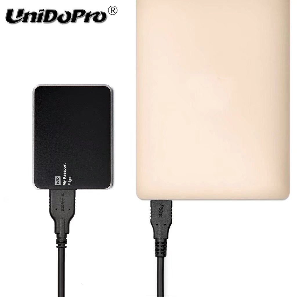 Type C to USB 3.0 Micro B Cable for Western Digital My Passport /Transcend StoreJet /Toshiba Canvio /Seagate Backup Hard Drive