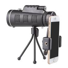 40X60 (9500 М-1500 м) ручной HD монокуляр телескоп путешествия охота кемпинг