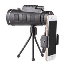 40X60 (1500 м-9500 м) Портативный HD монокуляр телескоп путешествия охота кемпинг