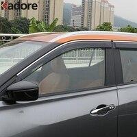For Nissan Kicks 2017 2018 Plastic Window Sun Rain Visor Cover Door Vent Shade Winshield Deflector