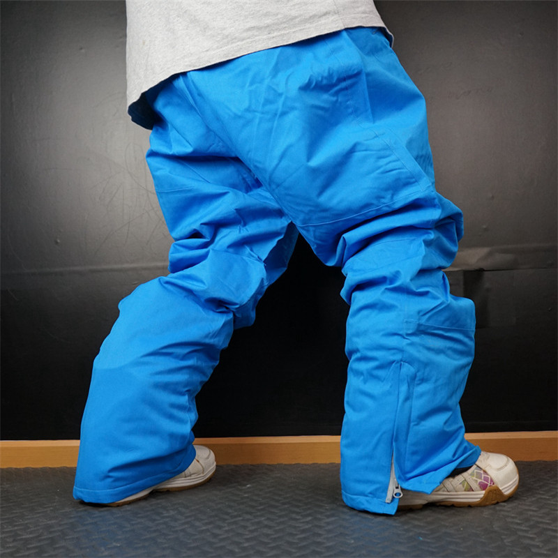 2018 Ski Pantalon Hommes Étanche Épaissir Snowboard Pantalon pour Montagne Ski Pantalon Super Chaud Respirant Neige Pantalon Mâle