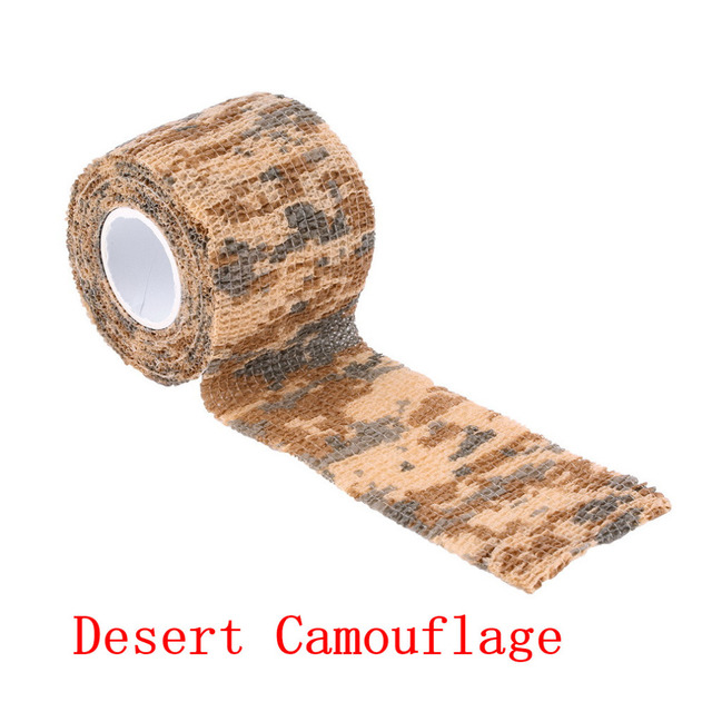 5cmx4.5m Army Camo Outdoor Hunting Shooting Tool Camouflage Stealth Tape