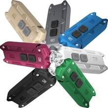 Top Sales NITECORE TIP TIPCRI TIPSS Metal Key Button font b Light b font Multi purpose
