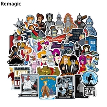 74pcs Futurama paster Cartoon characters anime movie funny decals scrapbooking diy decoration phone laptop waterproof