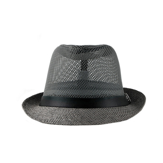 Summer Jazz Cap - Beach Straw Fedora 5