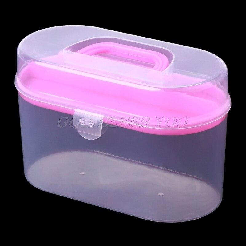 Sewing Kit Tool Storage Box Needle Thread Scissor Organizer Medicine Container
