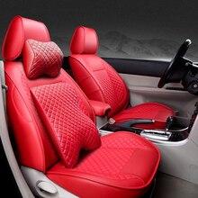 Special High quality Leather car seat cover For Renault Koleos megane Scenic Nuolaguna latitude landscape auto accessories