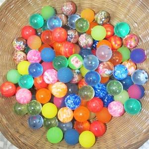 Image 2 - 30 teile/los Lustige spielzeug bälle Bouncy Ball Solide schwimm springenden kind elastische gummi ball von bouncy spielzeug 25MM