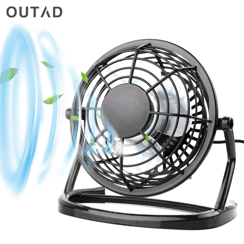 NEW USB Cooler Cooling Desk Mini Fan Portable Desk Mini Fan Super Mute PC USB Coolerfor Notebook Laptop Computer With key switch 1pc new laptop cpu cooler heatsink cooler radiator laptop water cooling fan for pc notebook computer cooling aluminum r360 black