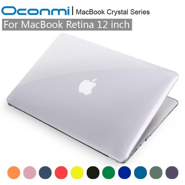 Crystal Transparent Clear Hard Case for Apple Macbook 12 case Retina 12 inch laptop bag for Macbook Retina 12 case