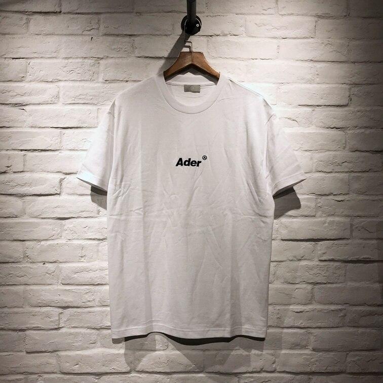 New Adererror T-shirt Women Men Summer Style Embroidery Ader Error T Shirts Tees Hip-hop Streetwear Men Cotton T Shirt