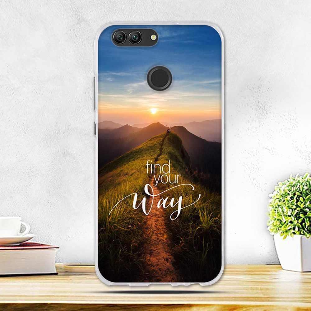 Caixa do telefone Para Huawei Caso 5.0 ''Peainted nova 2 Bonito Silicone TPU Macio Capa Para Huawei nova 2 Fundas Para Huawei nova 2 Caso