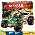 187 шт. Бела Ninja 10320 Marvel Строительные Блоки Джунгли Raider Фигурки Игрушки Модель, Совместимую С Lego
