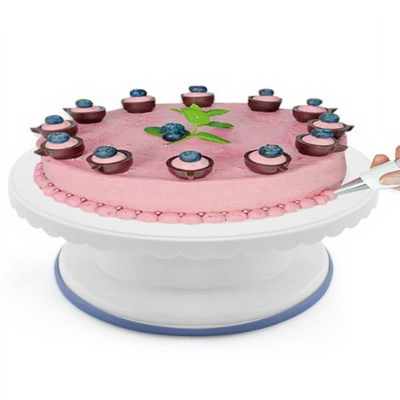 Plastic Cake Turntable Rotating Cake Decorating Turntable ...