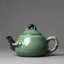 Teapot Handiwork Pot The Kungfu Tea Set Longquan Celadon