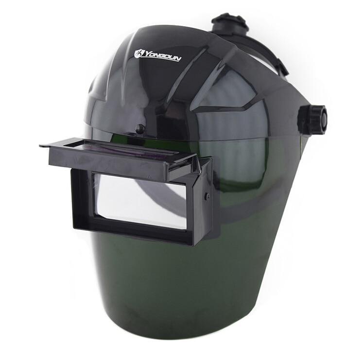 цена на Welding mask headset automatic variable light welding cap face mask glasses welding arc shield Soldering iron