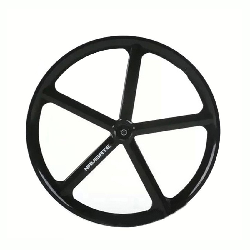 Fixed gear bike wheels Rims Magnesium Alloy wheel  700C wheel  5 spokes fixie Bicycle  front rear wheel Mag Alloy free shipping 6pcs lot dj lighting full color rgbw led moving head light 7x12w led dmx wash beam stage effect light led disco bar party lights